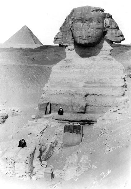 Giza-esfinge - fotos de Egipto