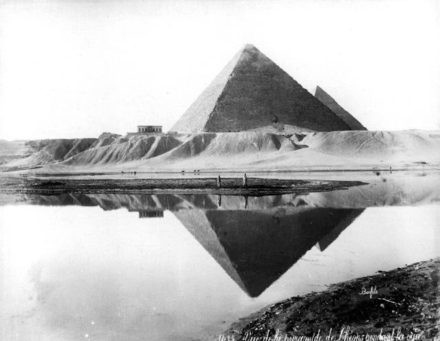 Giza-piramides-inundacion