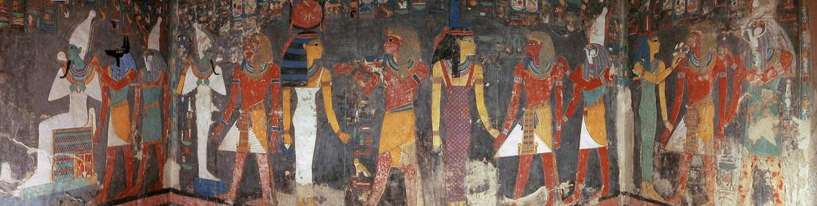 Horemheb detalle de la tumba de Horemheb, Sakara Egipto, dinastía XXI.