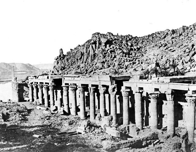 Templo-Philae-columnas - fotos de Egipto