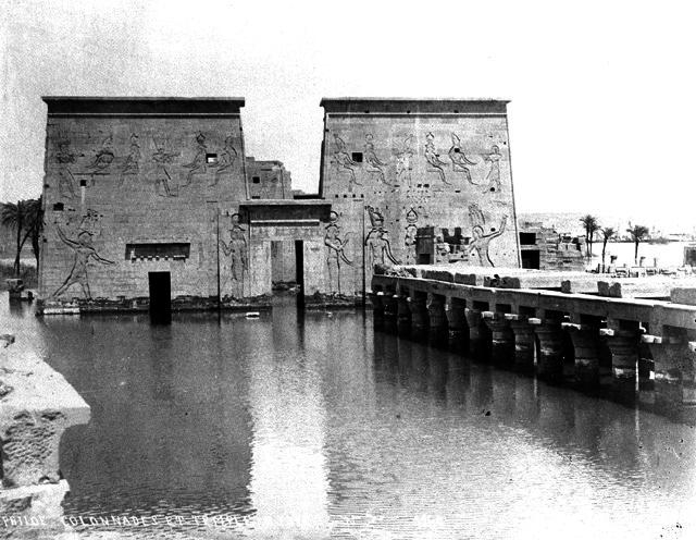 Templo-Philae-inundado - fotos de Egipto