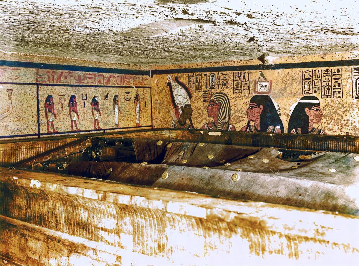El descubrimiento de Tut-Ankh-Amon