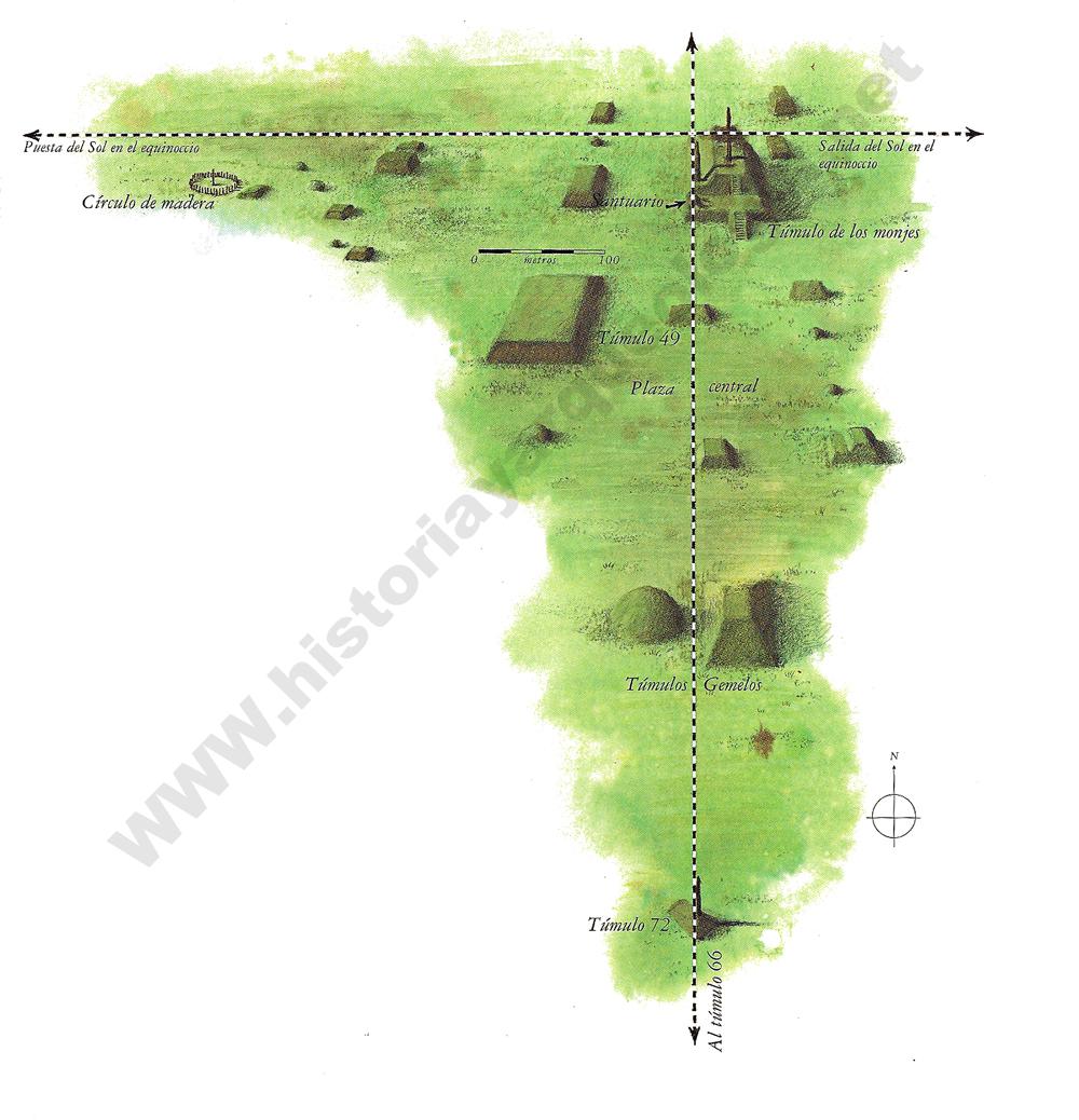 Cahokia mapa