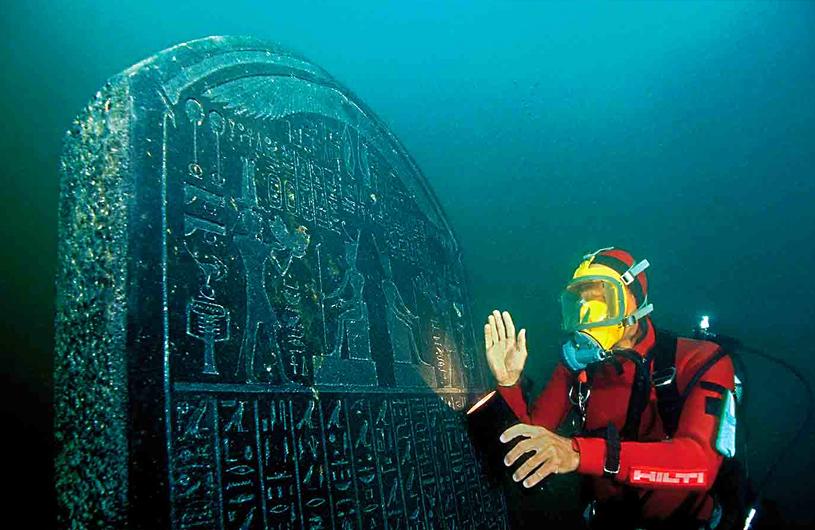 Tesoros sumergidos de Egipto 05