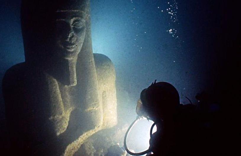 Tesoros sumergidos de Egipto 06